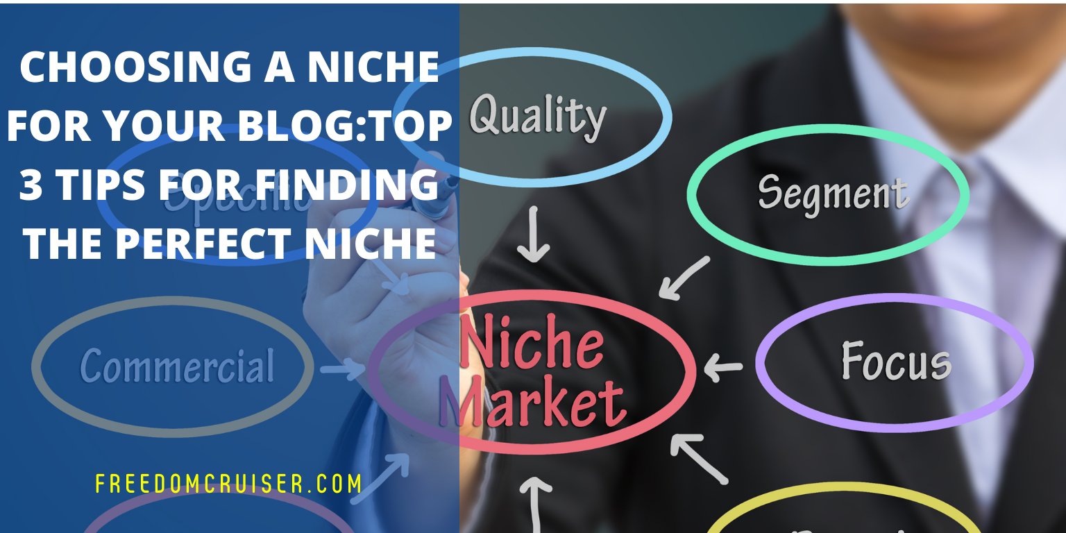 Choosing a Niche for Your Blog: Top 3 Tips for Finding the Perfect Niche 1