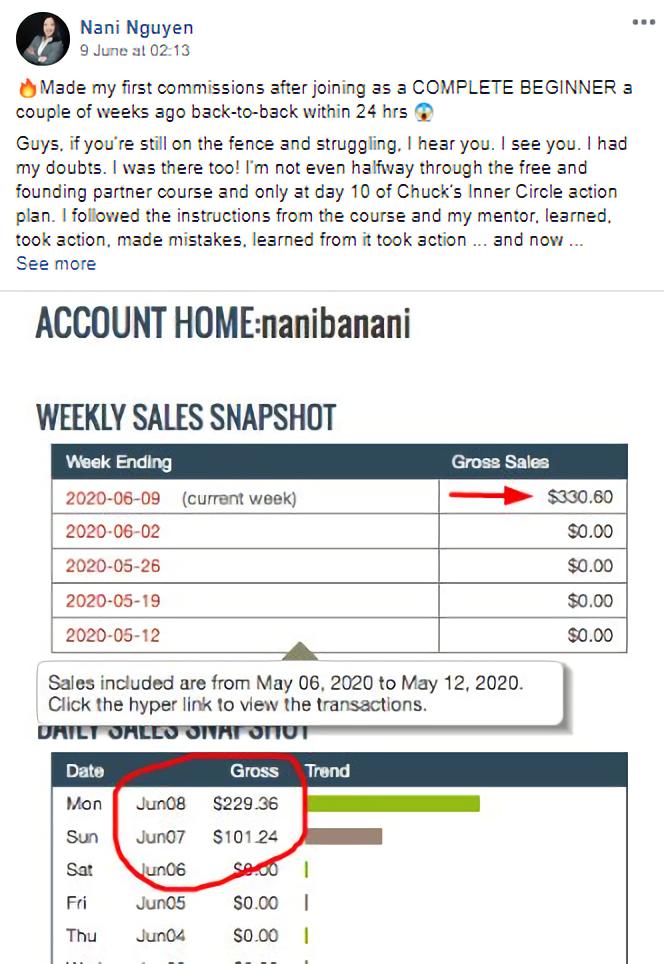 My Online Startup Proof