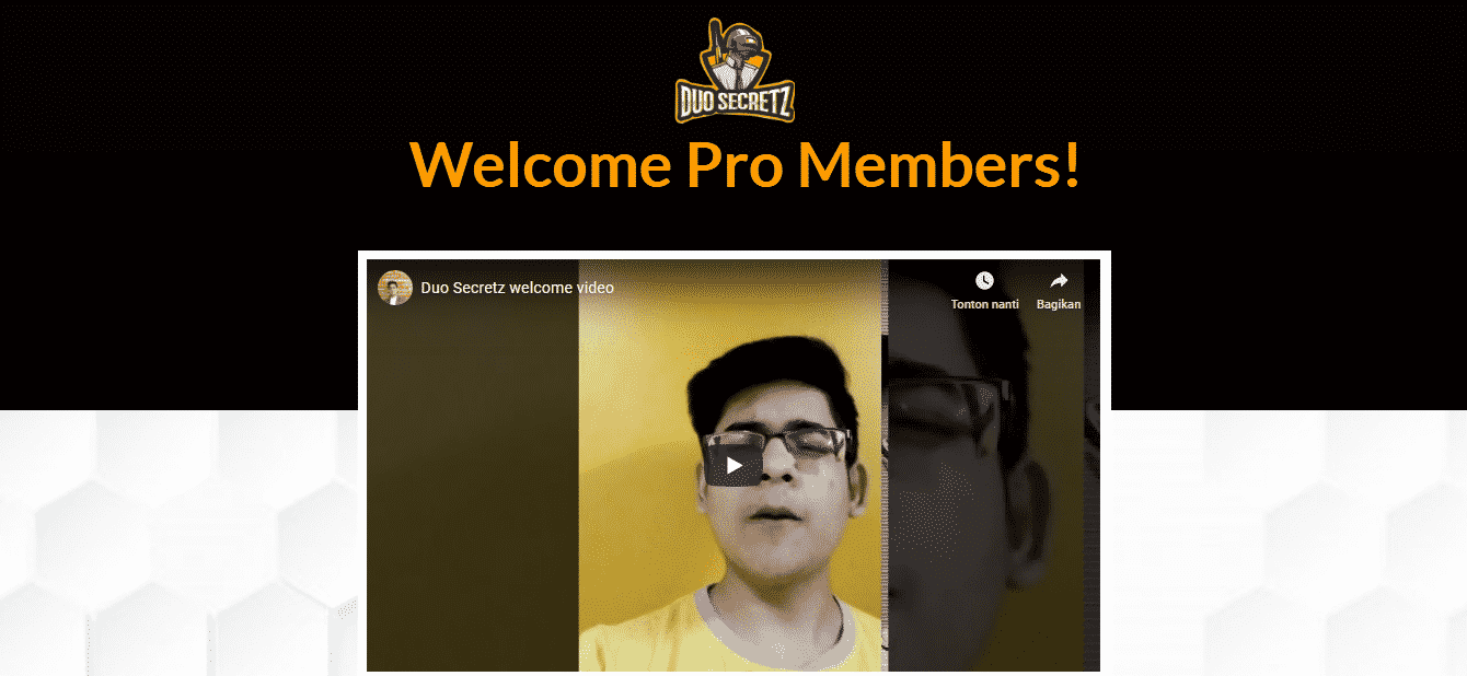 Duo Secretz Pro Member Area