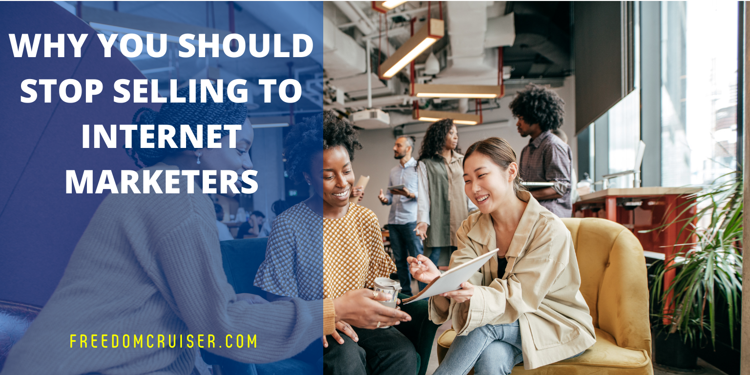 Why You Should Stop Selling to Internet Marketers and Start Selling to Silver Surfers 1
