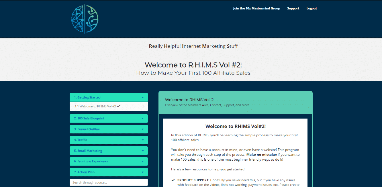 RHIMS (Really Helpful Internet Marketing Stuff) Vol #2 Review: How to Make Your First 100 Affiliate Sales 3
