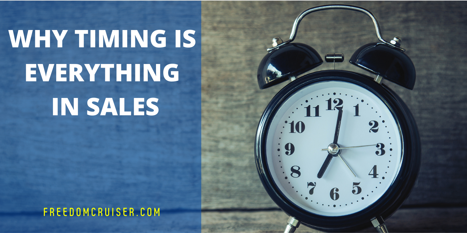 Why Timing is Everything in Sales 1