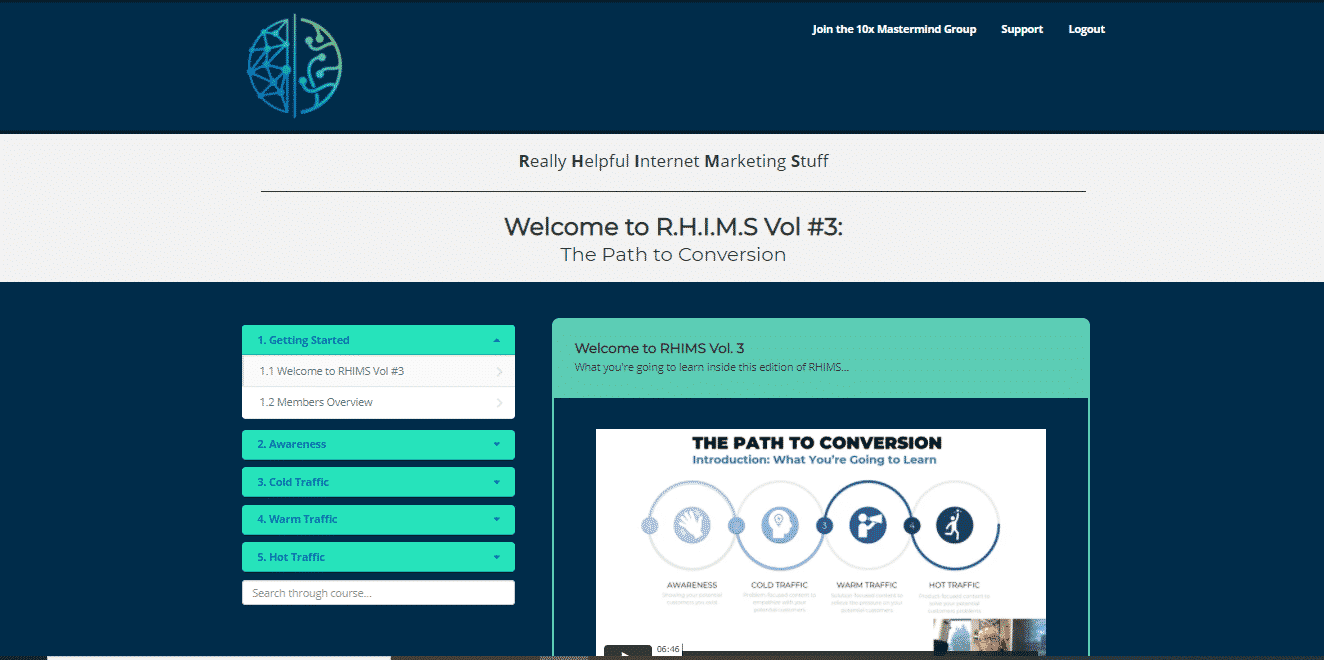 RHIMS (Really Helpful Internet Marketing Stuff) Vol #3 Review: The Path To Conversion 3