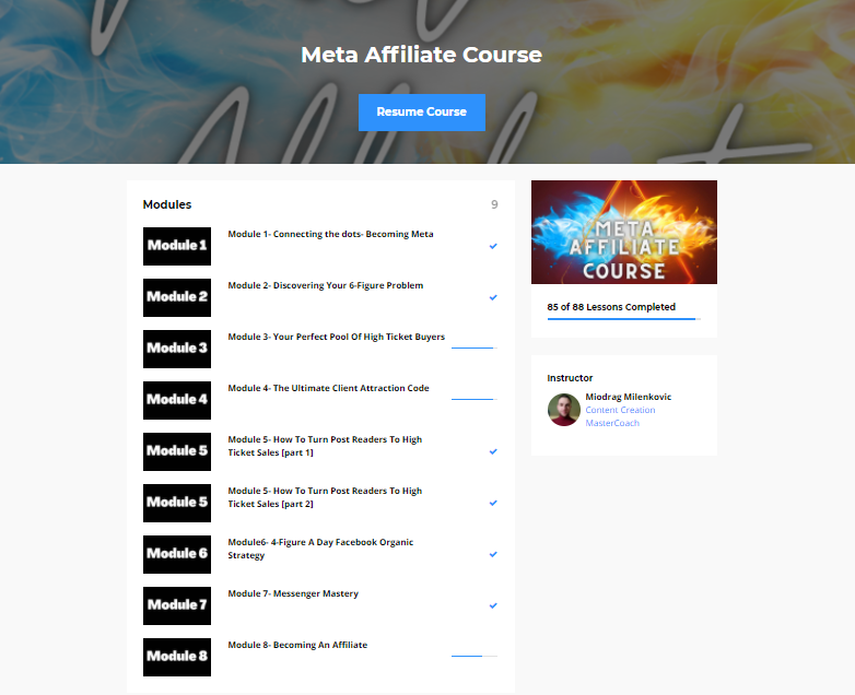 Meta Affiliate Revolution Review: How To Make Consistent High Ticket Sales 3